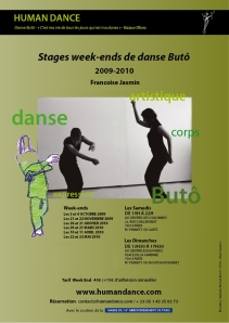 Flyer Human Dance