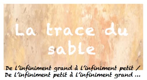 la trace du sable-logo