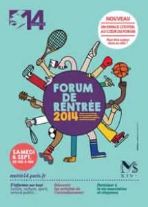 Forum de rentrée Paris 14