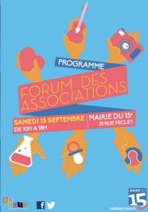 Forum des associations paris 15